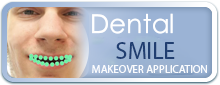 Dentist Dolton - Dental Smile Makeover Application tab