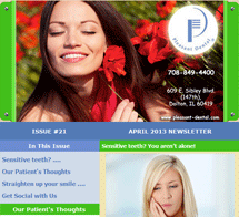 Dolton Dentist - April 2013 Newsletter