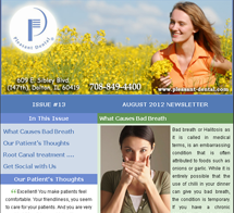 Dolton Dentist - August 2012 Newsletter