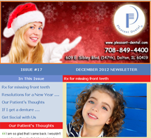 Dolton Dentist - December 2012 Newsletter