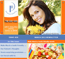 Dolton Dentist - March 2013 Newsletter
