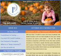 Dolton Dentist - October 2012 Newsletter