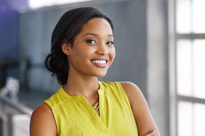 Portrait of a confident black businesswoman